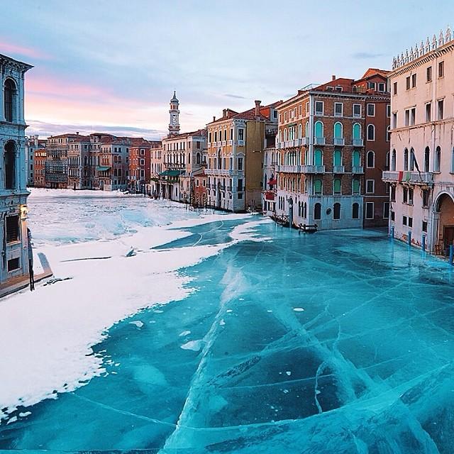 frozen venice by robert jahns