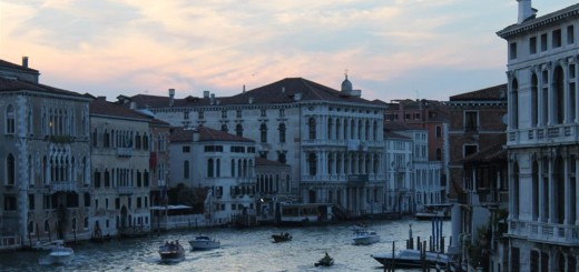 A view to Grand Canal