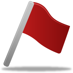 Flag-red-icon