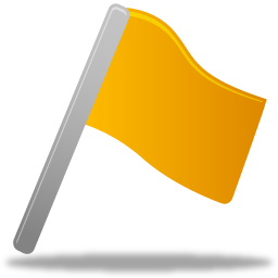 Flag-yellow-icon