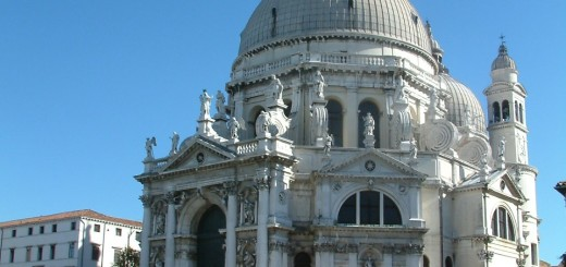 The Church of Madonna della Salute in Dorsoduro, Venice