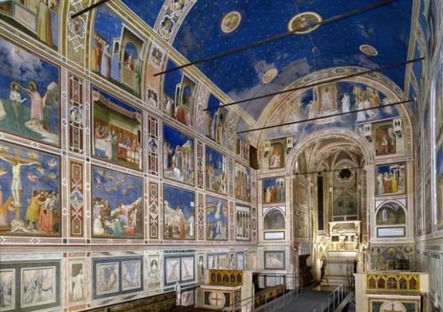 Cappella degli Scrovegni by Giotto