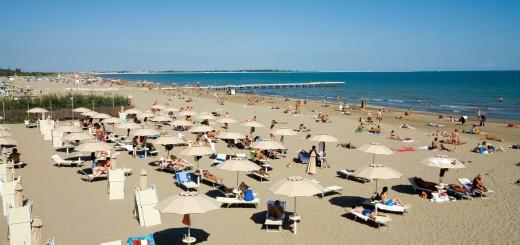 Venice lido beach