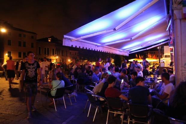 Nightlife at Campo Santa Margherita